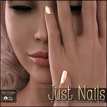 SV's Just Nails for Genesis 3 Female(s) Iray image 4