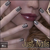 SV's Just Nails for Genesis 3 Female(s) Iray image 5
