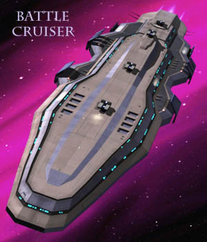 Battle CruiserLP - Extended License 3D Models Extended Licenses shawnaloroc