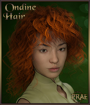 Prae-Ondine For Genesis 3 3D Figure Essentials prae