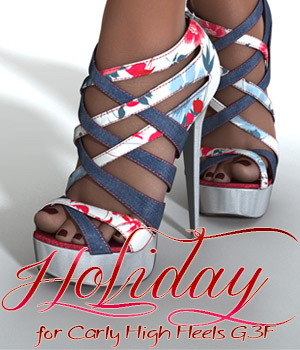 Holiday for carly G3F 3D Figure Assets alexaana