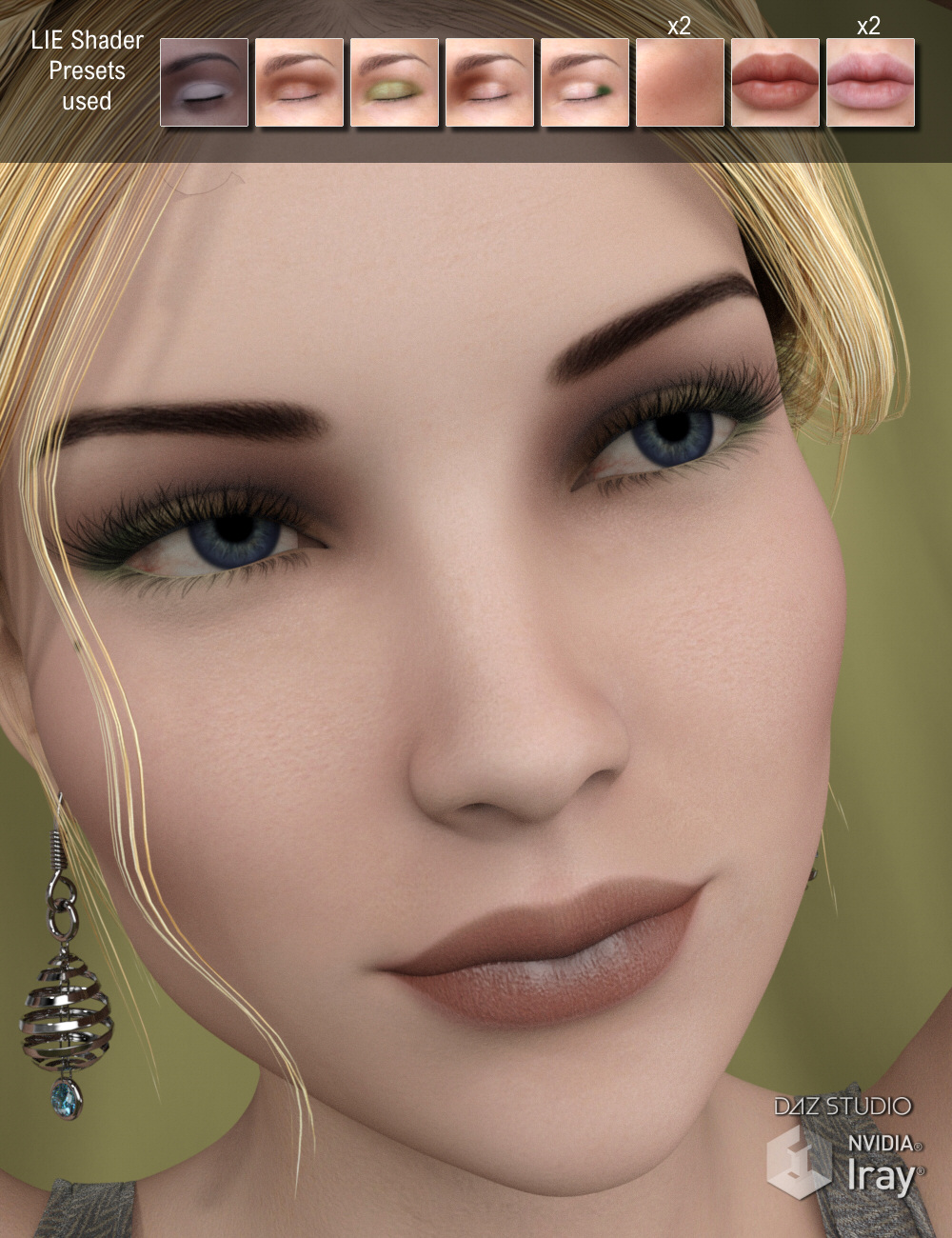 Lully's LIE Makeups for Genesis 3 Female