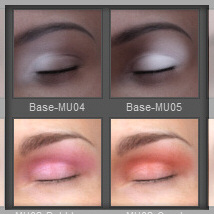 Lully's LIE Makeups for Genesis 3 Female image 7