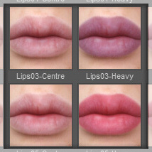 Lully's LIE Makeups for Genesis 3 Female image 8