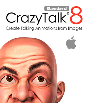 CrazyTalk 8 Standard - Mac Software Reallusion