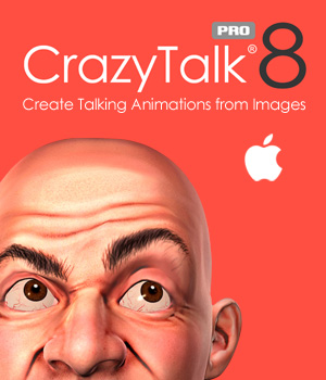 CrazyTalk 8 PRO - Mac Software Reallusion