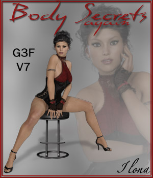 Body Secrets Again - G3F - V7 3D Figure Essentials ilona