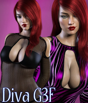 Diva G3F 3D Figure Essentials kaleya