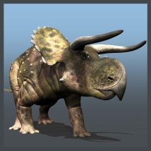 Nasutoceratops DR - Extended License 3D Models Gaming Extended Licenses Dinoraul