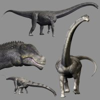 PuertasaurusDR - Extended License Gaming Extended Licenses 3D Models Dinoraul image 1