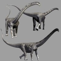 PuertasaurusDR - Extended License Gaming Extended Licenses 3D Models Dinoraul image 2