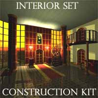 Interior set Construction Kit 3D Models maniak