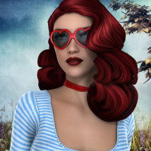 50s Hollywood Hair - Extended License image 3