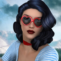 50s Hollywood Hair - Extended License image 7