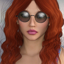 1960's Hippie Hair - Extended License image 1