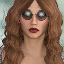 1960's Hippie Hair - Extended License image 2