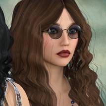 1960's Hippie Hair - Extended License image 3