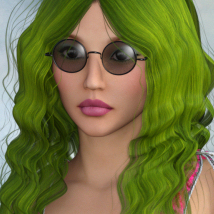1960's Hippie Hair - Extended License image 4