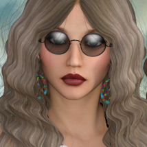 1960's Hippie Hair - Extended License image 5