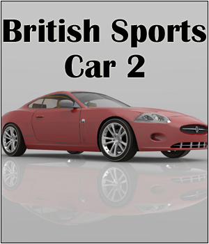 British Sports Car 2 - Extended License 3D Models Extended Licenses RPublishing