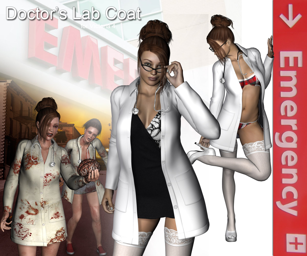 Doctor's Lab Coat - Extended License