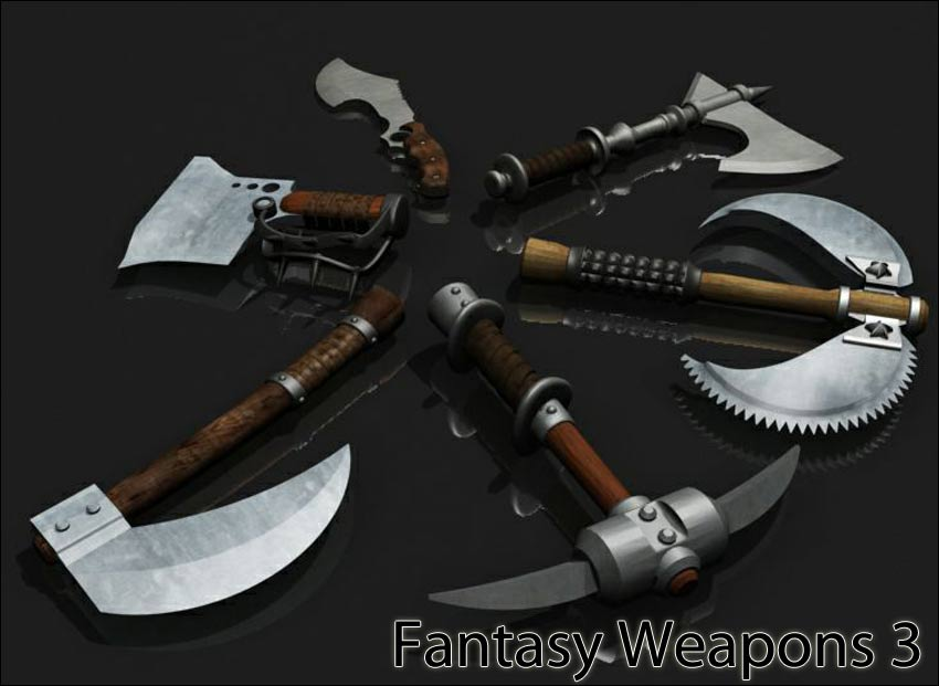 Fantasy Weapons Pack 3 - Extended License