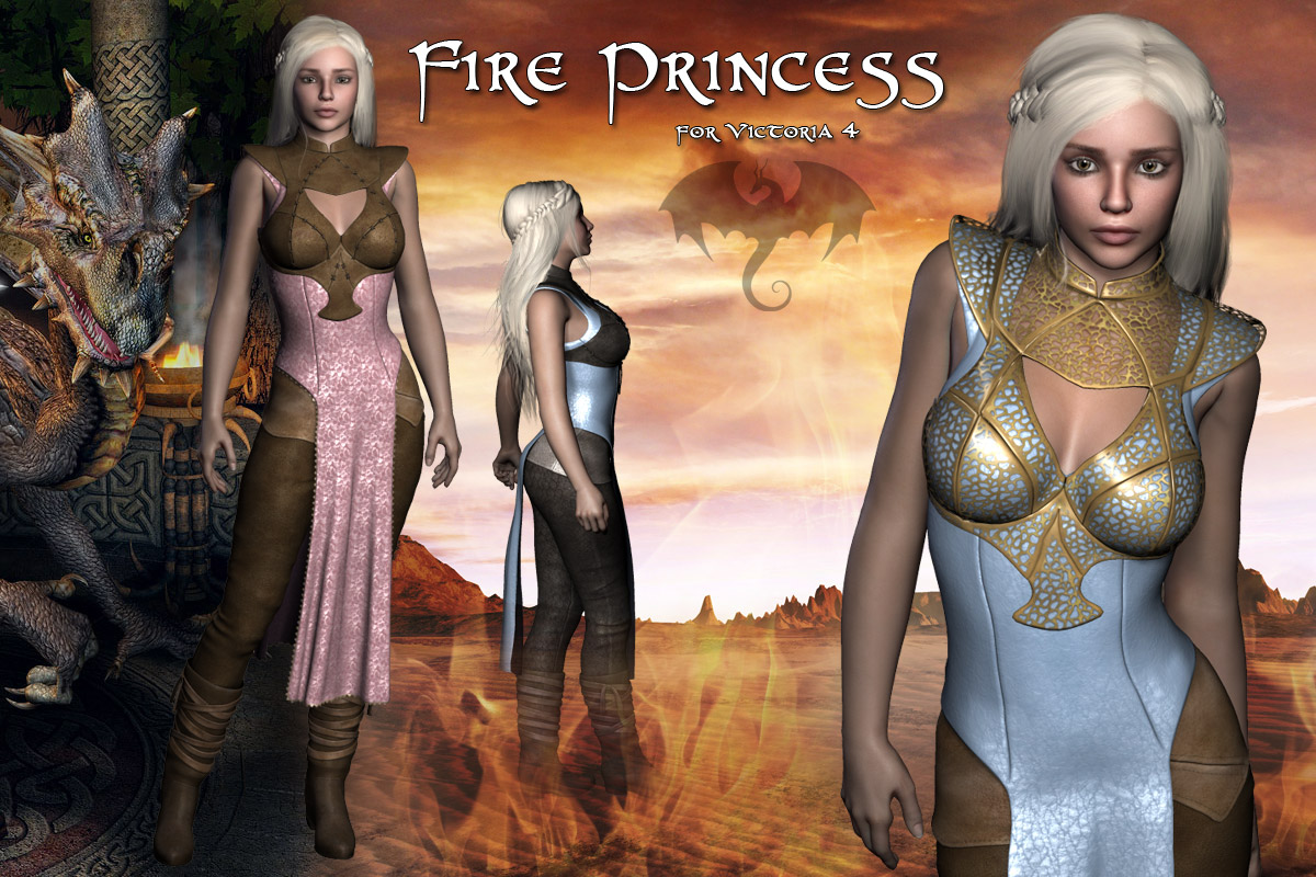 Fire Princess - Extended License
