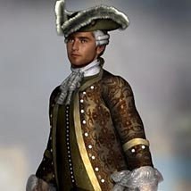 Francois-Philippe M4 18th Century Costume - Extended License image 2