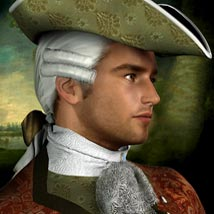 Francois-Philippe M4 18th Century Costume - Extended License image 3