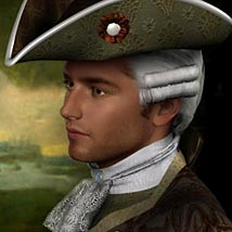 Francois-Philippe M4 18th Century Costume - Extended License image 4