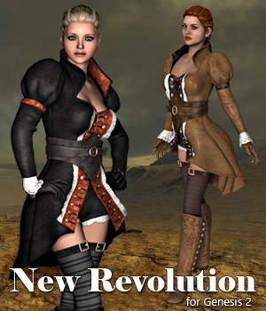 G2 New Revolution - Extended License 3D Figure Assets 3D Models Extended Licenses RPublishing