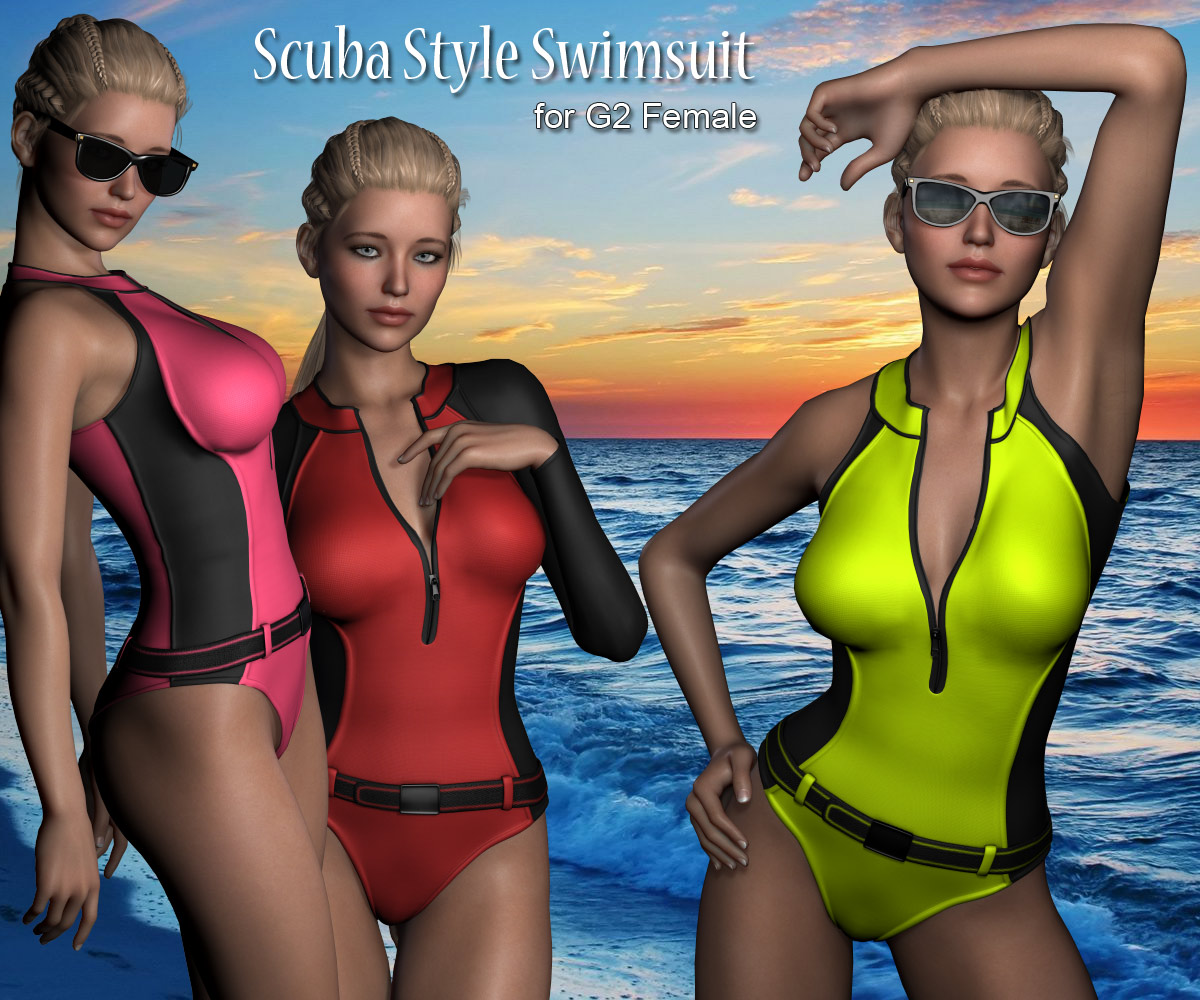 G2 Scuba Swimsuit - Extended License