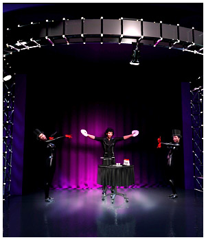 Magician Stage & Props - Extended License 3D Models Extended Licenses RPublishing