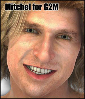 Mitchel for G2M - Extended License 3D Figure Assets Extended Licenses RPublishing