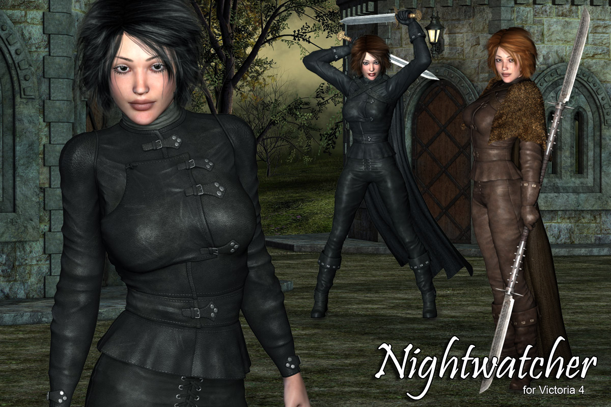 Night Watcher V4 / A4 / Girl4 - Extended License