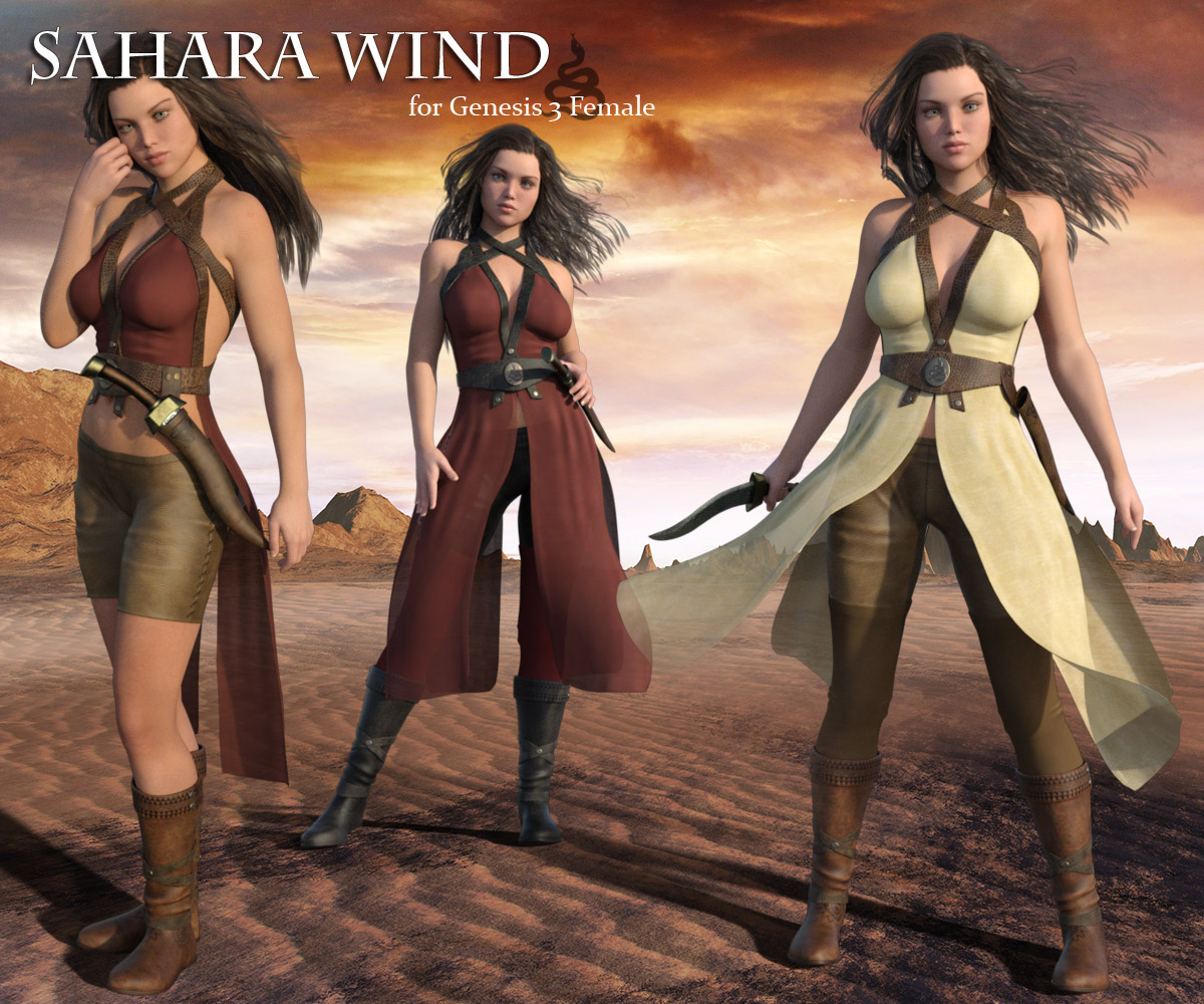 Sahara Wind for G3F - Extended License