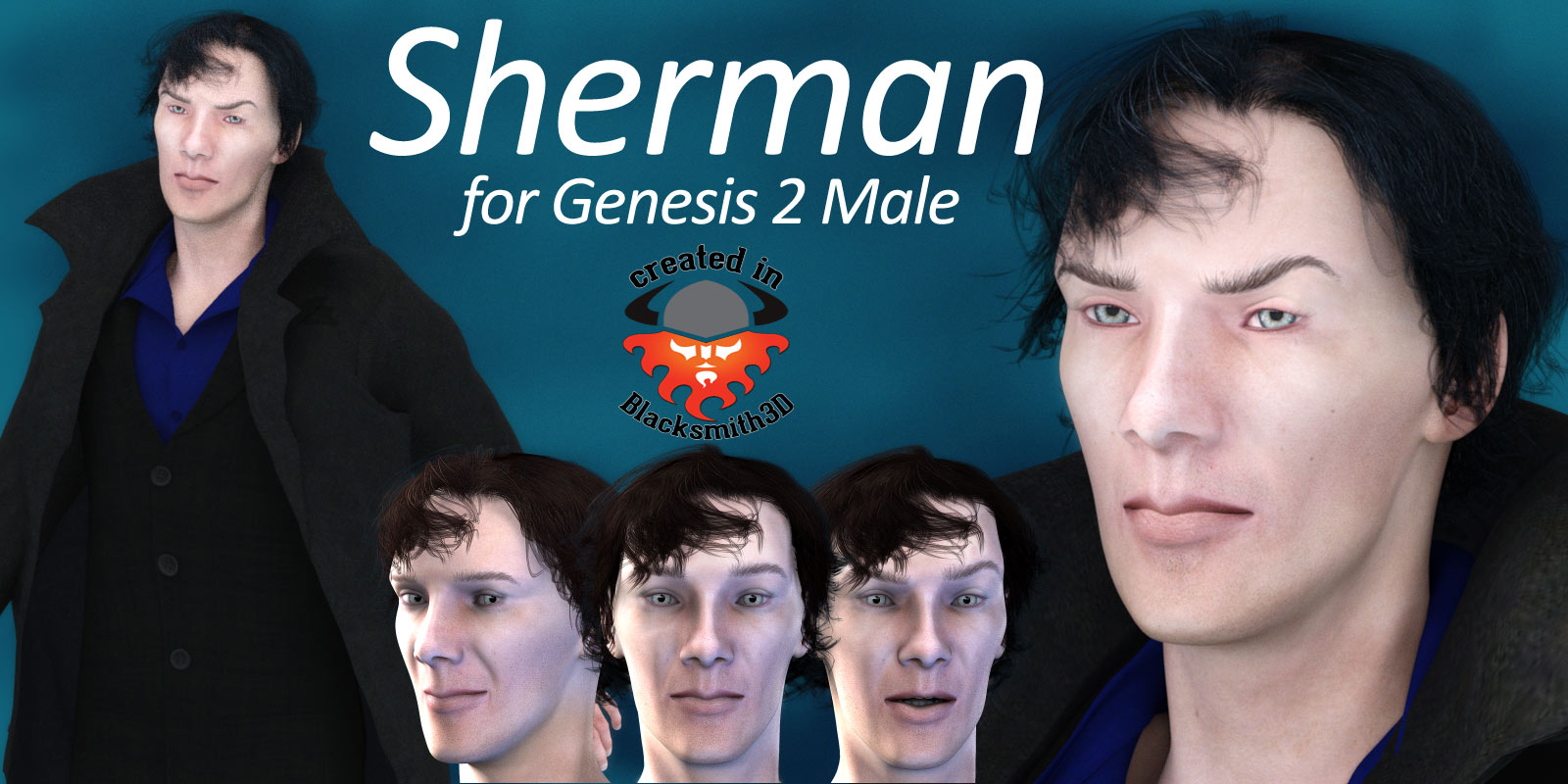 Sherman for Genesis 2 Male - Extended License by RPublishing