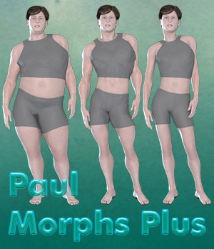 Paul Morphs Plus 3D Figure Assets Lyrra