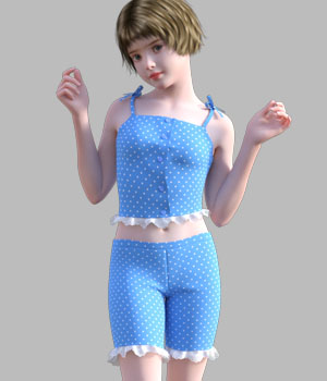 GaoDan Simple Clothing 14 3D Figure Essentials gaodan