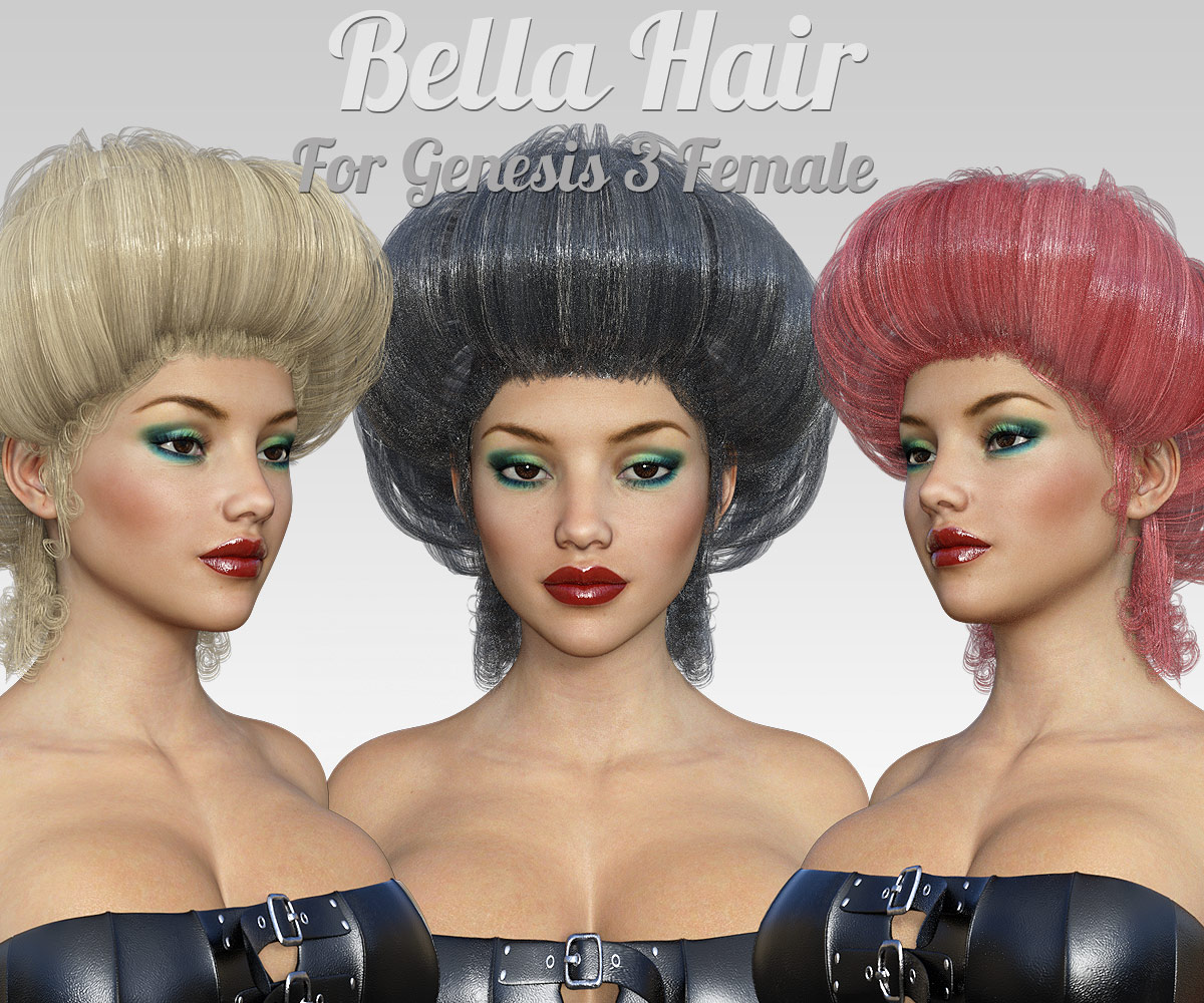 Bella Hair for G3 female(s)