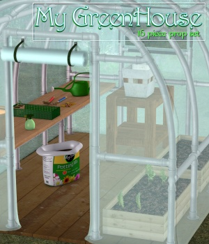 My GreenHouse 3D Models JudibugDesigns