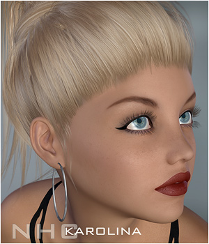 NaturalHC : Karolina 3D Figure Essentials P3D-Art