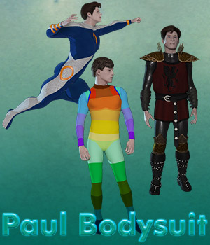 Paul Bodysuit 3D Figure Assets Lyrra