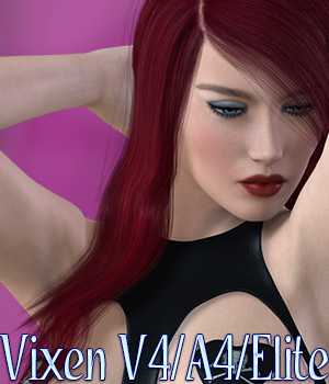 Vixen V4/A4/Elite 3D Figure Essentials kaleya