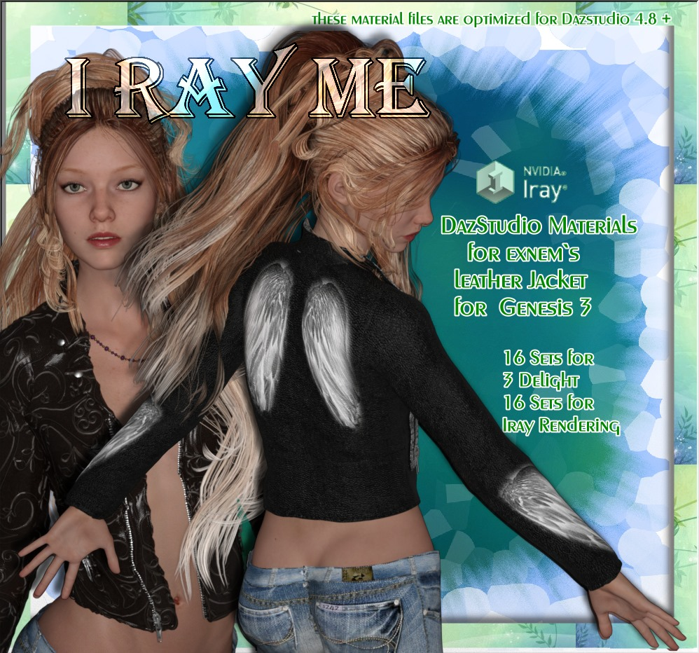IRAY ME - for Exnem`s Leather Jacket G3