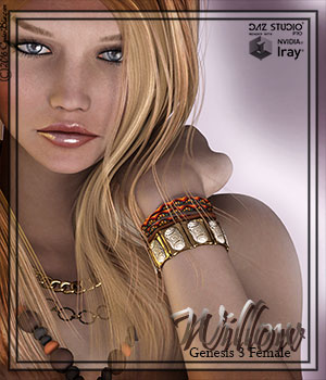 [CB] Willow G3F 3D Figure Assets CynderBlue
