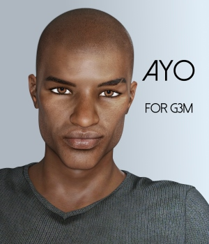 Ayo for Genesis 3 Male 3D Figure Assets RedzStudio