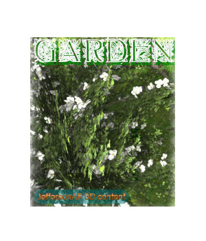 Garden 3D Models JeffersonAF