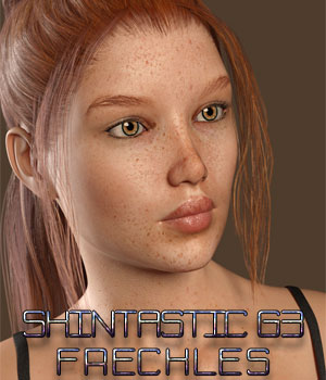Skintastic Skin MR - Freckles G3F Merchant Resources Hinkypunk