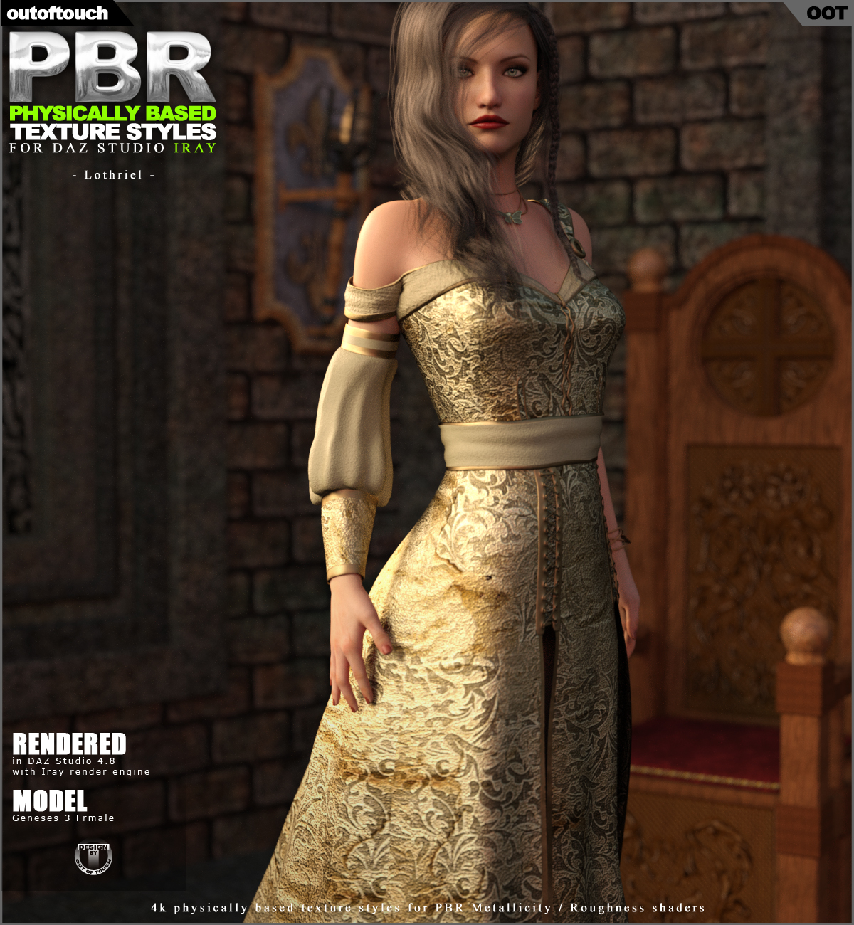 OOT PBR Texture Styles for Lothriel